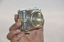 Vintage Brass Nickel Plated Light House Brand Battery Torch , Japan