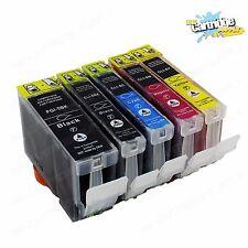 5 PK Ink For Canon PGI-5 Cli-8 W/ Chip Pixma iP4200 iP4300 iP4500 MP600 MP800