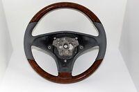 Volante Original Mercedes madera de nogal GRIS CLARO SL R230 MODELOS
