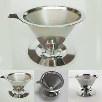 Metallsieb Kaffee Dauerfilter Kaffeefilter Kaffeebereiter Edelstahl  Dauerfilter