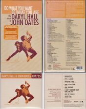 DARYL HALL & JOHN OATES Do What You Want Live 05 New 5 CD Complete Anthology 70s