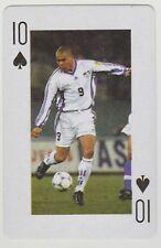 Football World Cup 2006 Playing Card single - Ronaldo - Real Madrid - Brazil
