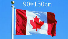 Canadian Flag Polyester Maple Leaf Banner Outdoor Indoor Party Festival Decor