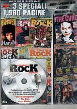 CLASSIC ROCK LIFESTYLE=DVD ROM=ANNATA 2016+THE CURE-IRON MAIDEN-B.SPRINGSTEEN