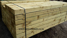 75mm x 75mm / 3'x3' 1.8m Pressure Treated Incised Fence Posts -