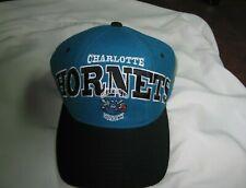 "Beautiful Charlotte Hornets Starter 100% Wool ""NBA Authentics"" Adjustable Cap"
