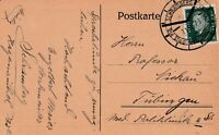 Postkarte verschickt von Schramberg nach Tübingen aus dem Jahr 1930