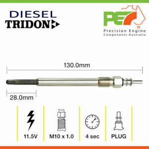 * TRIDON * Glow Plug For Mercedes Benz Sprinter 315 CDi 413 CDi - 904