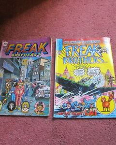 Fabulous Furry Freak Brothers magazines 4 + 6