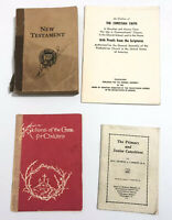 Lot Christian Booklets Religious New Testament Catechism Stations of the Cross