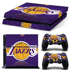 LA Lakers Game Decal Cover Skin Sticker for PS4 PlayStation Console 2 Controller