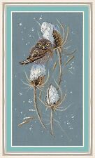 """Counted Cross Stitch Kit Golden Hands - """"Pygmy owl"""""""