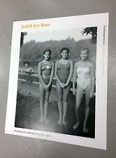 Rare Judith Joy Ross Moma Contemporaries 1995 Photography Poster - NEW