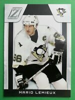 2010-11 Panini Zenith Hockey #125 Mario Lemieux Pittsburgh Penguins