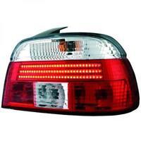 Luces Traseras Marcha Atrás Par Set Tira Led Rojo Blanco para BMW E39 95-00