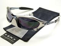 Oakley Splice FMJ Crystal Black Herren Sonnenbrille Radbrille Sportbrille Plate
