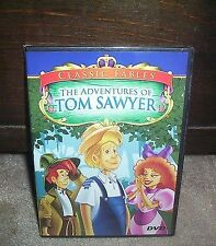 Classic Fables - The Adventures of Tom Sawyer (DVD) BRAND NEW SEALED