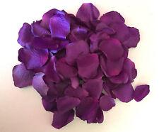 100 x Rosenblätter lila  Streudeko -Tischdeko