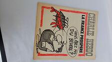 Charlie Hebdo  n 114 bis du 22 janiver 1973 original d'époque couverture REISER