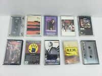 ROCK N ROLL CASSETTE TAPES 10 Pc. LOT #5