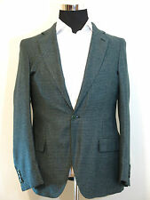 Andrea Campagna mens blazer sport coat jacket NEW! 56-44US Blue/Black cashmere!