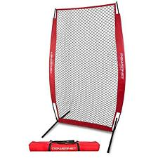 PowerNet I-Screen Pitching Net with Frame and Carry Bag