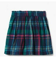 NWT Gymboree Girls / Toddler Plaid Skirt with Elastic Waist (76)