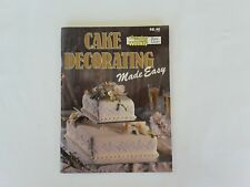 Womens Weekly Cake Decorating Made Easy