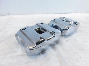 Harley Davidson Sportster 883 & 1200 Chrome Cylinder Head Top Cover Rocker Boxes