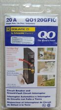 Square D QO Qwik-Gard 20 Amp Single-Pole GFCI Circuit Breaker
