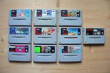 SNES - 10 Spiele für Super Nintendo (Set 50)