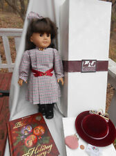 American Girl Samantha DOLL MEET OUTFIT BOX Pleasant Company Bonus book