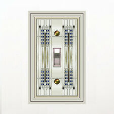 Mod Switchplate - Mostly White 0454X-T1