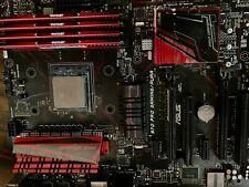 computer components parts lot, ASUS motherboard, AMD FX CPU, Viper 32gb 2133 ram
