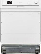 Sharp - QW-HX12S47EW-DE - Spülmaschine Teilintegriert - Weiß - 60 cm