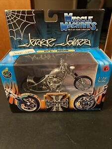 Jesse James West Coast Choppers CFL Rigid 1:18 Scale Diecast Motorcycle New!