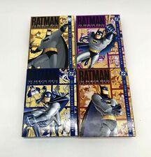 4 Batman: The Animated Series - Vol. 1, 2, 3 & 4 (DVD, 2005, 4-Disc Set each)