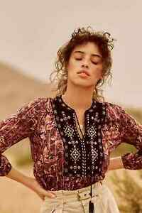 NWT Anthropologie Glenda Lace Blouse size Small $128