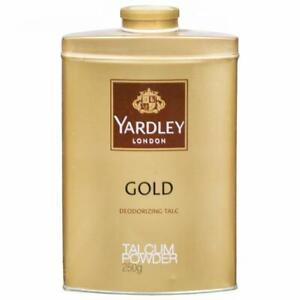 Yardley London Perfumed Talc Gold Deodorizing Talcum Powder - Free-Shipping