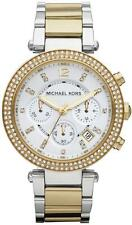 NEW MICHAEL KORS MK5626 LADIES TWO TONE PARKER WATCH - 2 YEAR WARRANTY