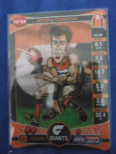 2014  TEAMCOACH AFL  FOOTY POINTERS  GWS GIANTS  JEREMY CAMERON   FP-09