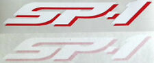 HONDA SP1 SP-1 RC51 SEAT DECALS