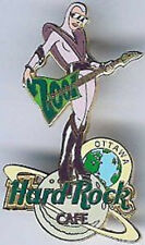 Hard Rock Cafe OTTAWA 2001 NEW YEAR Sexy Space Girl PIN