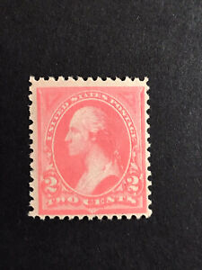 GandG US Stamps #248 Washington 2c Type 1 Unwmk MNH OG