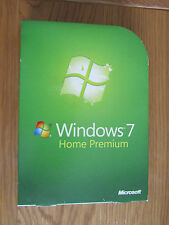 Windows 7 Home Premium 32 & 64 bit version Full Retail Version GFC-00025