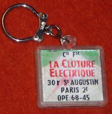 Porte-clé VISIOMATIC Cloture electrique CLOSELEC 30 Rue ST AUGUSTIN Paris 2°