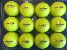 Bridgestone e6 Yellow 5AAAAA+ mint golf balls by the dozen **FREE SHIPPING**