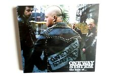 ONE WAY SYSTEM the best of CD digipak oi! punk skinhead