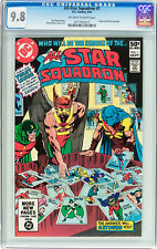 All-Star Squadron #1 CGC NM/MT 9.8 Flash Green Lantern Hawkman Dr Fate Spectre