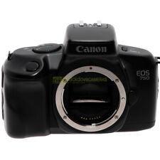 Canon EOS 750 fotocamera reflex automatica autofocus a pellicola.